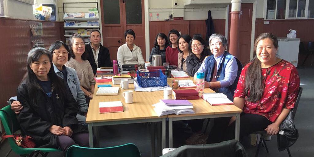 Cantonese bible study